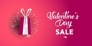 Sale 50 percent discount. Illustration of love and valentine day. Sale 50 percent discount Royalty Free Stock Photo