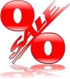 Sale_percent_reflection_hs Images stock