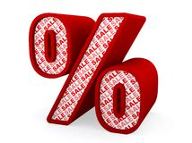 Sale - Percent sign Stock Photos