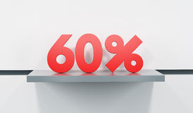 Sale at 60 percent Stock Photography