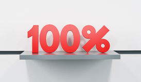 Sale at 100 percent Royalty Free Stock Photo