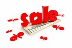 Sale percentage stock illustration