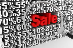 Sale and percentages Stock Photo