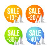 Sale percents Royalty Free Stock Photos