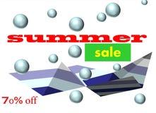 Big summer sale Royalty Free Stock Image