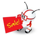 Sale placard Stock Photo