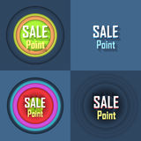 Sale Point Button Icon. Sale poiny nice icons design Stock Photo