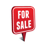 For sale pointer Royalty Free Stock Photos
