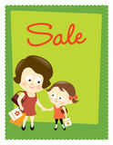 Sale poster 2 Royalty Free Stock Photography
