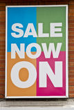 Sale poster Royalty Free Stock Photo