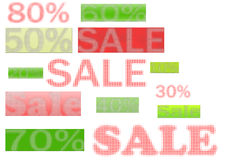 Sale poster Royalty Free Stock Images