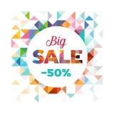 Sale Poster - Banner vector illustration