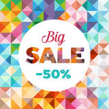 Sale Poster - Banner Stock Photography