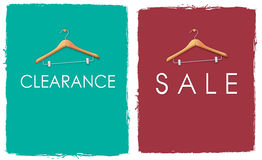 Sale Poster Collage Stock Photography