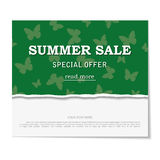 Sale poster. Design template for holiday sa Royalty Free Stock Photos