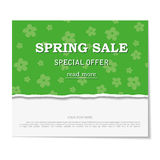 Sale poster. Design template for holiday sa Royalty Free Stock Images