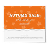 Sale poster. Design template for holiday sa Royalty Free Stock Image