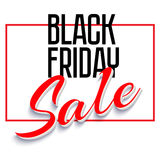 Sale Poster with Frame Royalty Free Stock Photos
