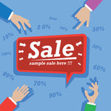 Sale Poster Royalty Free Stock Image