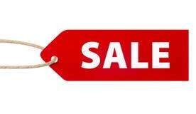 Sale price tag Stock Image