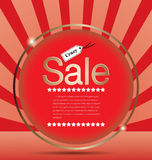 Sale Price Tag Background Royalty Free Stock Photography