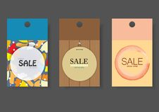 Sale Price Tag Banners Set Royalty Free Stock Photography