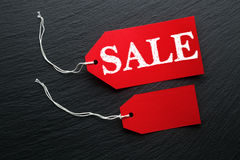 Sale price tags Royalty Free Stock Image