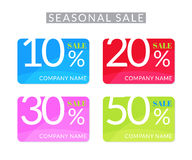 Sale priceless coupons Royalty Free Stock Photography