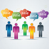 Sale product on offer Royalty Free Stock Images