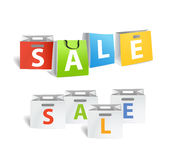 Sale promo banners Stock Photo