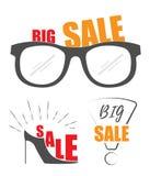 Sale promo store  Royalty Free Stock Photo