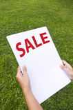 Sale promotion Royalty Free Stock Photos