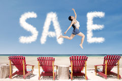 Sale promotion concept Stock Photos