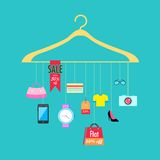 Sale and Promotion royalty free illustration