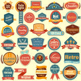 Sale and Promotion label tag sticker for Advertisement Stock Photo