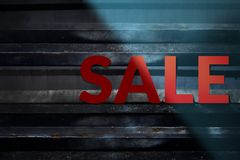 Sale and Promotional Concept Royalty Free Stock Images