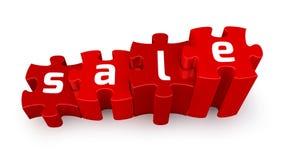 SALE puzzle Stock Images