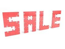 Sale puzzles Stock Photo