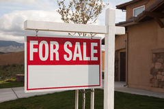 For Sale Real Estate Sign Stock Images