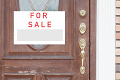 Sale Real Estate Sign Stock Photography