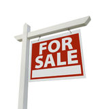 For Sale Real Estate Sign Isolated