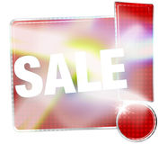 Sale Red Icon Exclamation Mark Stock Photo