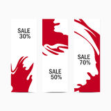 Sale-red Royalty Free Stock Photo