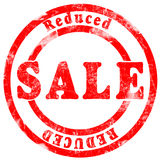 Sale reduced Royalty Free Stock Photo