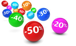 Sale Reduction Discount Banner Royalty Free Stock Photos