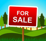 For Sale Represents Real Estate And Buy Stock Photos