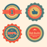 Sale Retro Badges Royalty Free Stock Photos