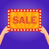 Sale retro Royalty Free Stock Photography