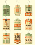 Sale Retro Tags Royalty Free Stock Photos
