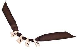 Sale Ribbon Stock Photo